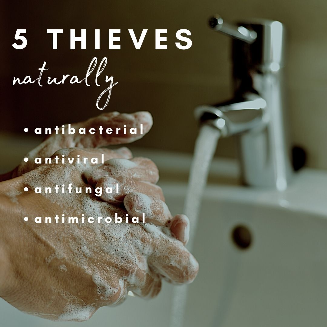5 Thieves Soap, Lotion, Spray
