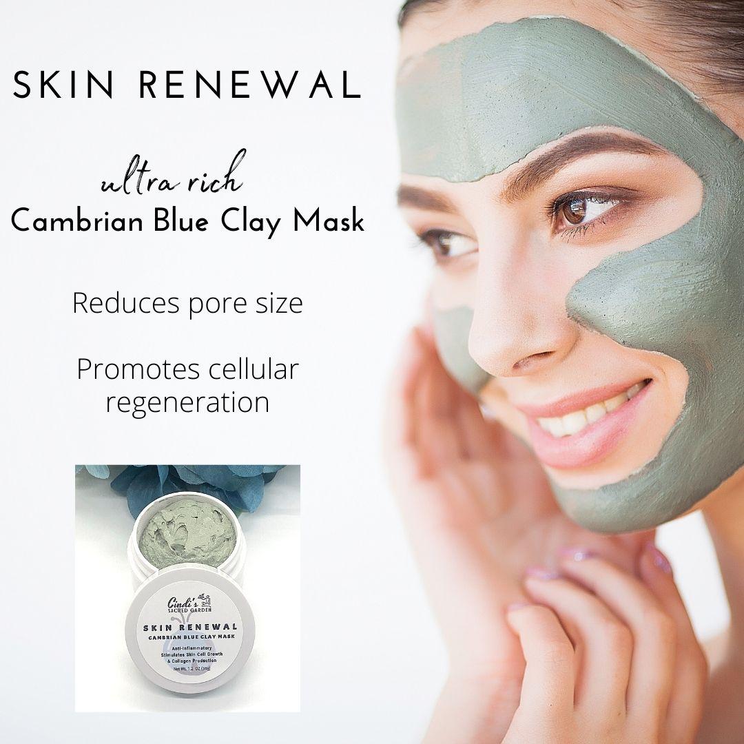 Cambrian Blue Clay Facial Mask