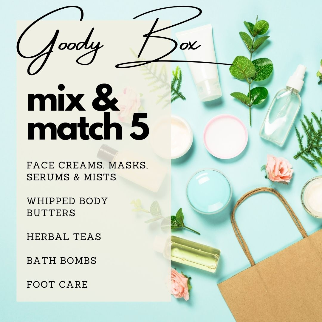 Fill your Goody Box with 5 travel size products