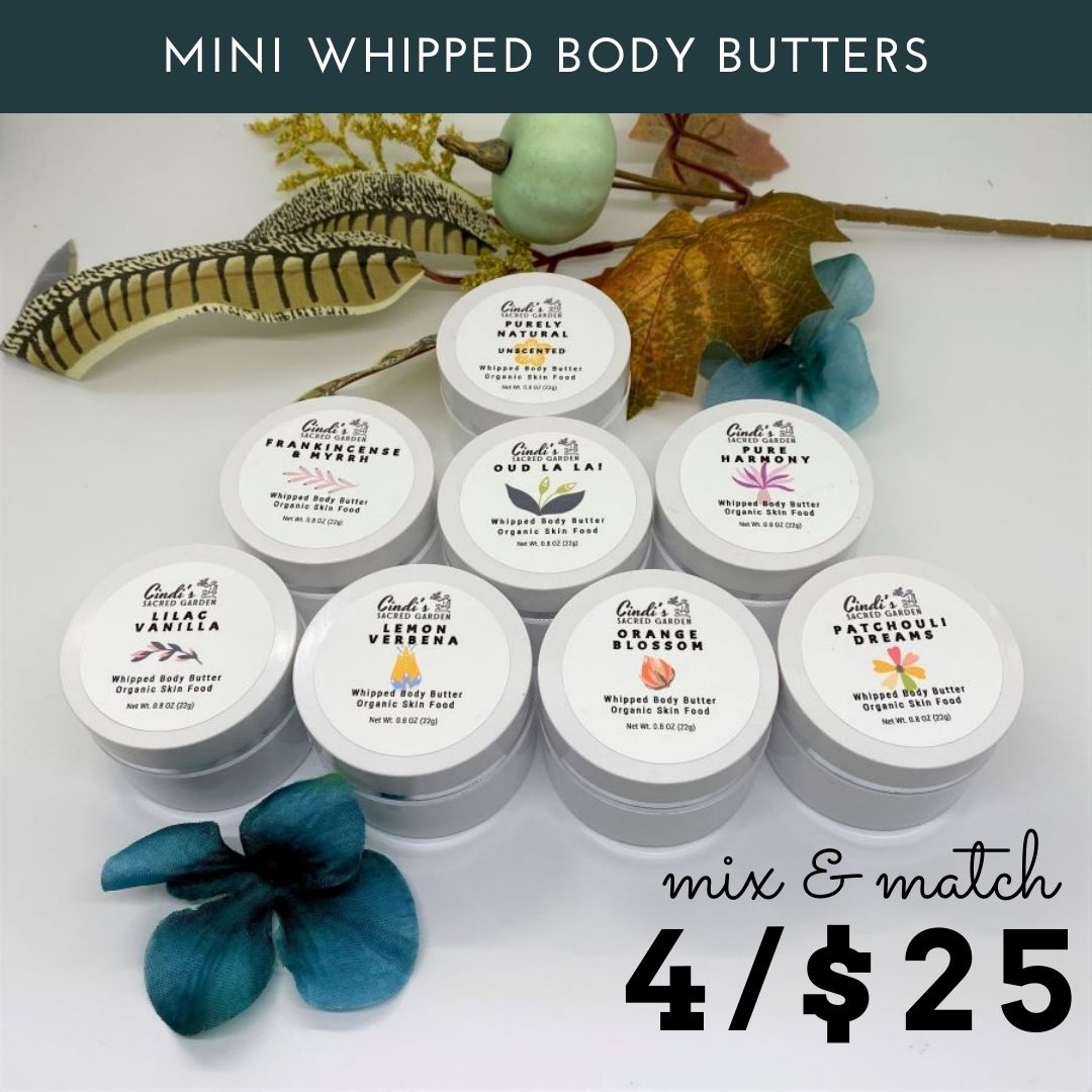 Mini body buters mix and match 4 for $25