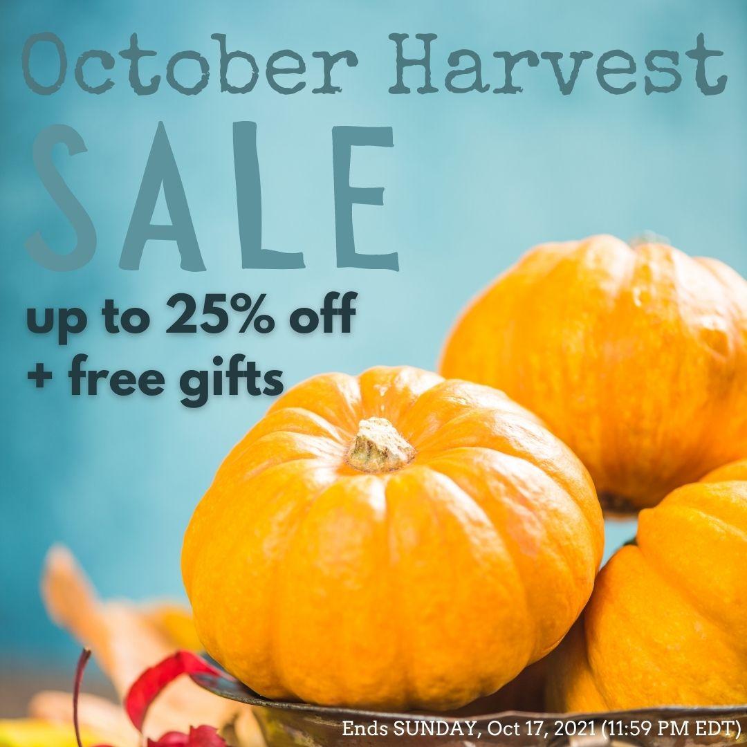 October Harvest Sale