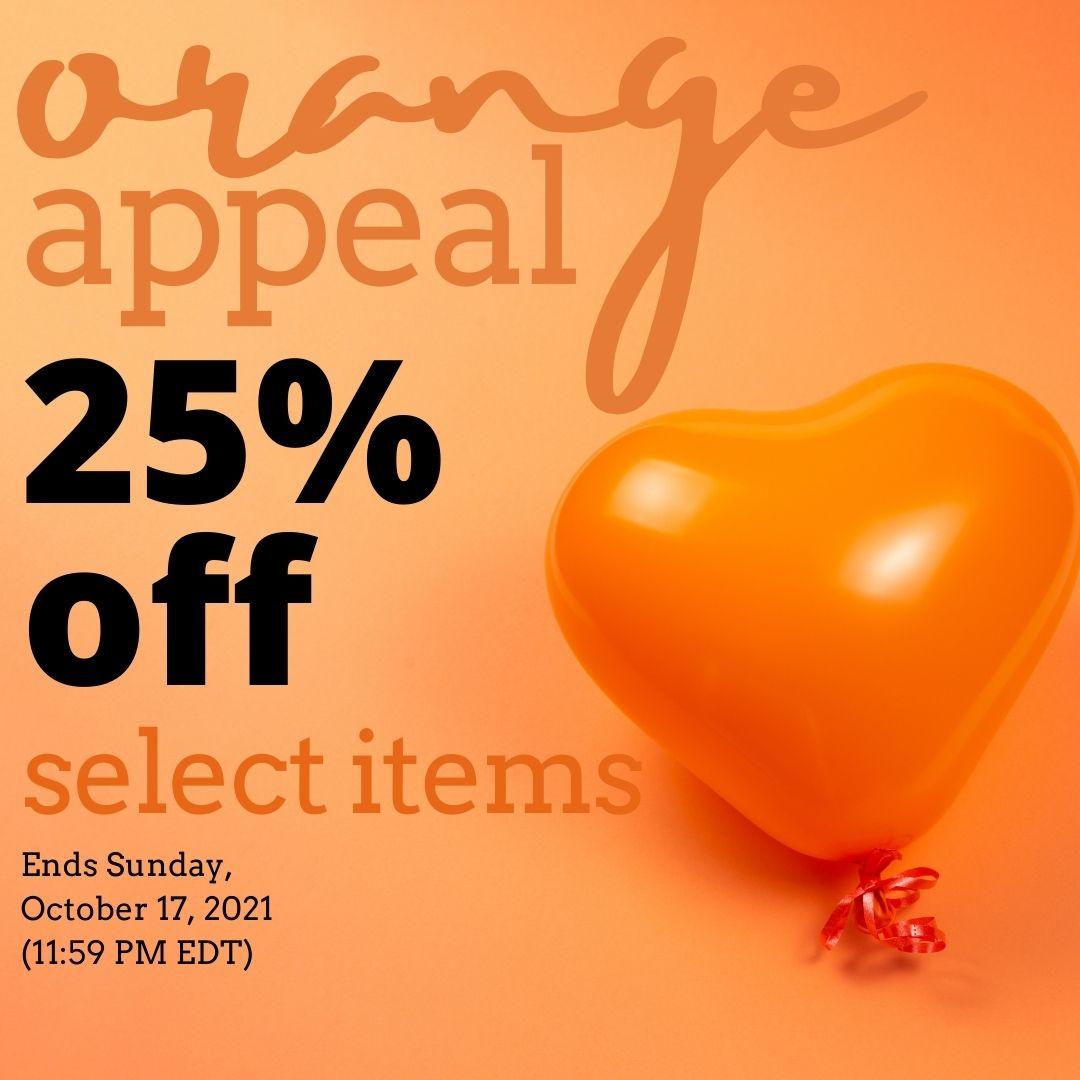 Orange Appeal - Save 25%