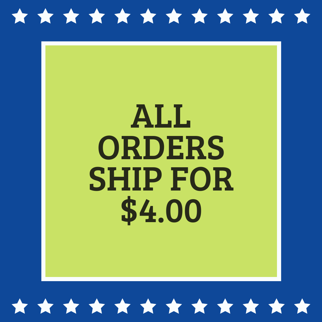 All order ship for $4.00