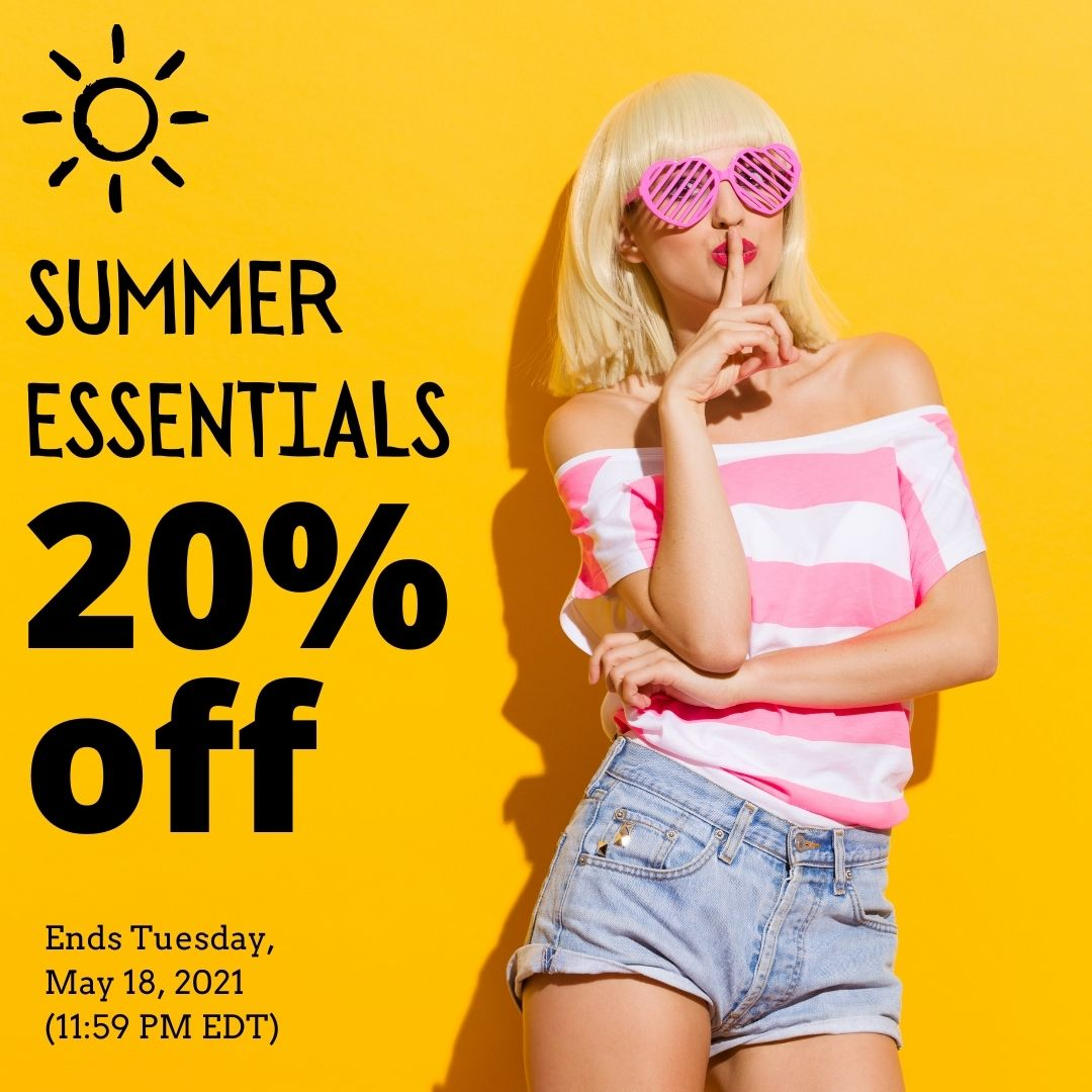 Summer Essentials Sale