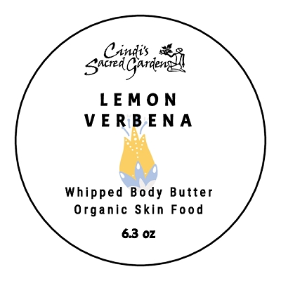 Lemon Verbena 6.3 Ounce Whipped Body Butter