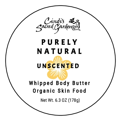 Purely Natural 6.3 Ounce Whipped Body Butter