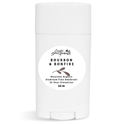 Bourbon and Bonfire Natural Deodorant