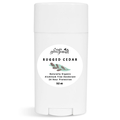 Rugged Cedar Natural Deodorant