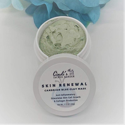 Cambrian Blue Clay Skin Renewal Facial Mask