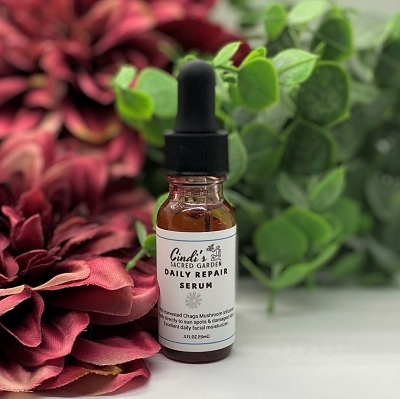 Daily Repair Serum with Chaga Mushroom