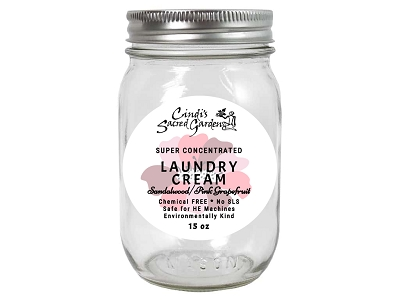 Sandalwood and Pink Grapefruit Super Concentrated Laundry Cream
