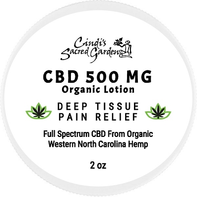 Organic Pain Relief CBD Lotion 500mg