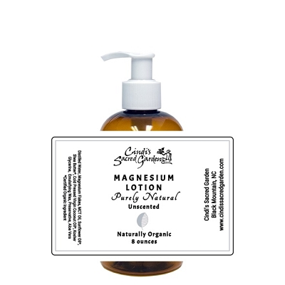 Naturally Organic Magnesium Lotion