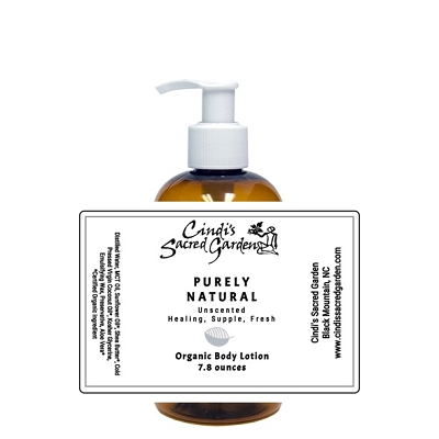 Purely Natural Organic Body Lotion
