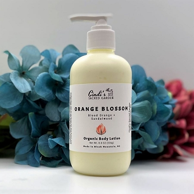 Orange Blossom Organic Body Lotion