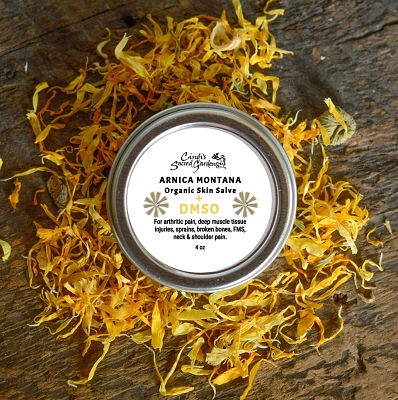 Arnica Montana with DMSO Organic Skin Salve