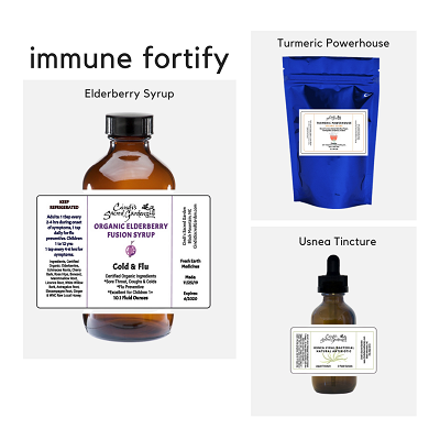 Immune Fortify Kit with Elderberry Syrup