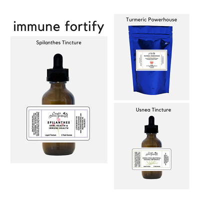 Immune Fortify Kit with Spilanthes Tincture