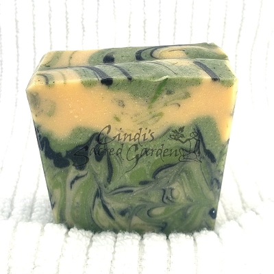 Leather and Gunsmoke Organic Soap
