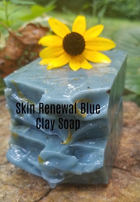 Skin Renewal Blue Clay Organic Soap