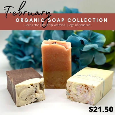 February 2021 Soap Collection