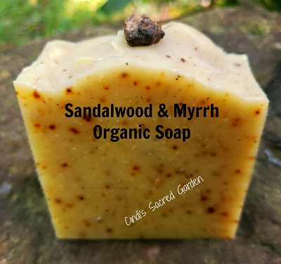 Sandalwood and Myrrh Organic Soap