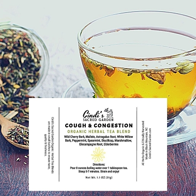 Cough-n-Congestion Herbal Tea - Small Pouch