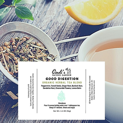 Good Digestion Herbal Tea - Large Pouch