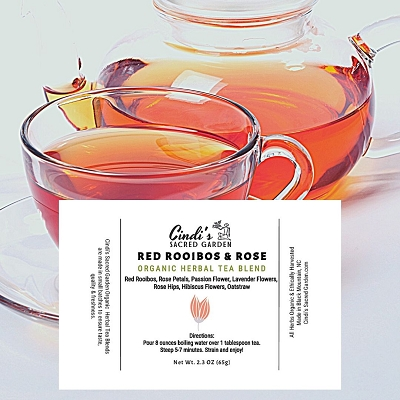Red Rooibos Herbal Tea -Small Pouch