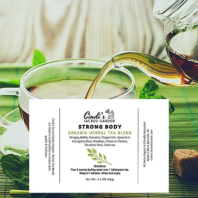 Strong Body Herbal Tea - Large Pouch