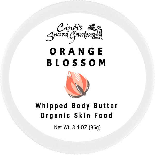 Orange Blossom Whipped Body Butter